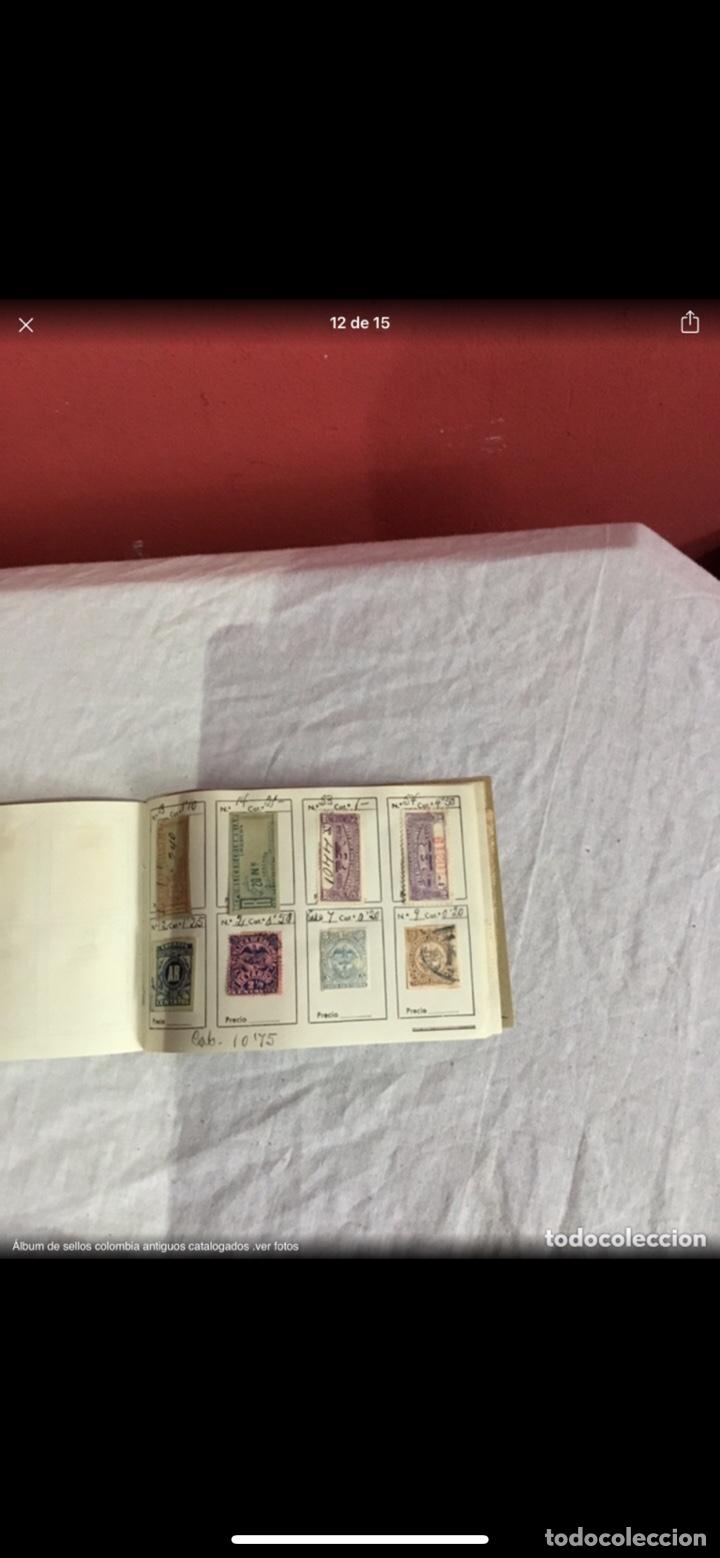 Sellos: Precioso álbum de 100 sellos clasificados colombia antigua completo . Alta coleccion. Ver fotos - Foto 12 - 253838140