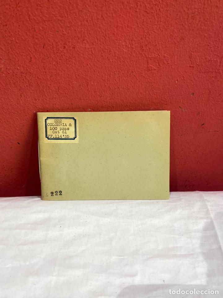 Sellos: Álbum de sellos colombia antiguos clasificados.siglo XVIII .ver fotos - Foto 2 - 261685295
