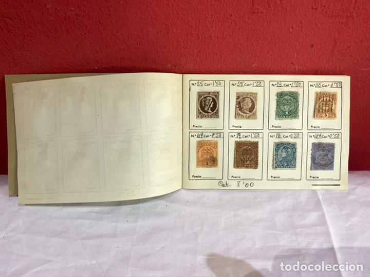 Sellos: Álbum de sellos colombia antiguos clasificados.siglo XVIII .ver fotos - Foto 3 - 261685295