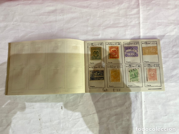 Sellos: Álbum de sellos colombia antiguos clasificados.siglo XVIII .ver fotos - Foto 5 - 261685295