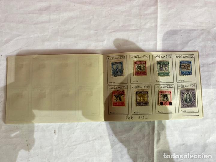 Sellos: Álbum de sellos colombia antiguos clasificados.siglo XVIII .ver fotos - Foto 9 - 261685295
