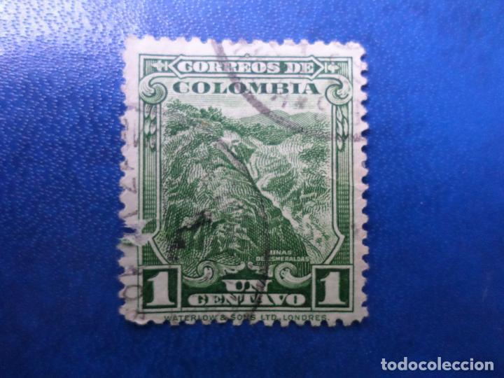 COLOMBIA, 1932, MINA DE ESMERALDAS, YVERT 264 (Sellos - Extranjero - América - Colombia)
