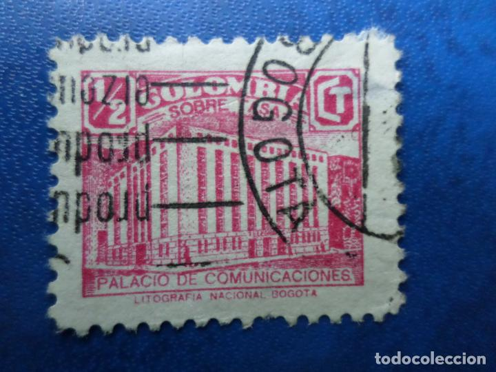COLOMBIA, 1939, SOBRETASA PARA CONSTRUCCION PALACIO DE COMUNICACIONES, YVERT 321 (Sellos - Extranjero - América - Colombia)