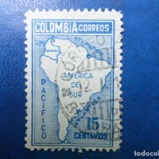 Sellos: COLOMBIA, 1946, YVERT 397. Lote 261833595