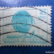 Sellos: COLOMBIA, 1989, FAUNA, PEZ DISCO, YVERT 799 AEREO. Lote 261835575