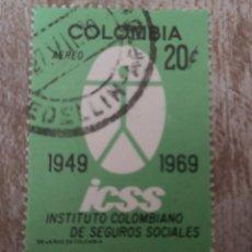 Sellos: COLOMBIA 1969 SELLO USADO. Lote 278508903
