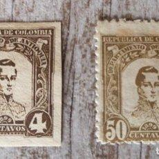 Sellos: 2 SELLO COLOMBIA 1899 VER LA FOTO. Lote 278525518