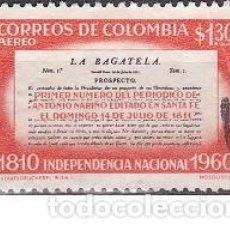 Sellos: SELLO ANTIGUO DE COLOMBIA - LA BAGATELA - (ENVIO COMBINADO COMPRA MAS). Lote 287748028