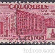 Sellos: SELLO ANTIGUO MUY PEQUEÑO DE COLOMBIA - SOBRETASA DE CONSTRUCCION - (ENVIO COMBINADO COMPRA MAS). Lote 287749078