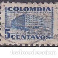 Sellos: SELLO ANTIGUO MUY PEQUEÑO DE COLOMBIA - SOBRETASA DE CONSTRUCCION - (ENVIO COMBINADO COMPRA MAS). Lote 287749338