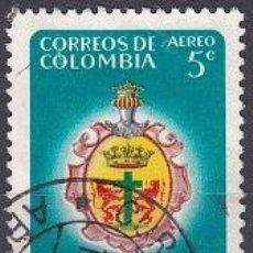 Sellos: SELLO ANTIGUO DE COLOMBIA - CORREO AEREO - (ENVIO COMBINADO COMPRA MAS). Lote 287749763