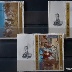 Sellos: COLOMBIA,1969,CAT.YT 646/647 Y PA. 497.. Lote 288943093