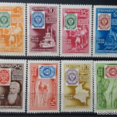 Sellos: COLOMBIA,1959,CAT.YT.572/575 Y PA.341/344. Lote 289233428