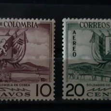 Sellos: COLOMBIA,1955,CAT.YT.499 Y PA.269.. Lote 289242873