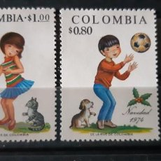 Sellos: COLOMBIA,1974, CAT.YT.678/679.. Lote 289250788