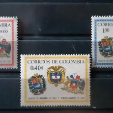Sellos: COLOMBIA,1966, CAT.YT.622 Y PA. 465/466.. Lote 289251183
