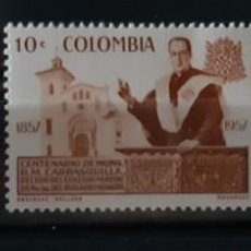 Sellos: COLOMBIA,1959,CAT.YT.559 Y PA. 313/314.. Lote 289257368