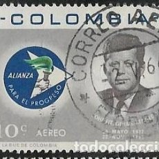 Sellos: COLOMBIA AÉREO YVERT 438. Lote 294901028