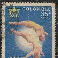 Sellos: COLOMBIA AÉREO YVERT 403, DEPORTES. Lote 294908553