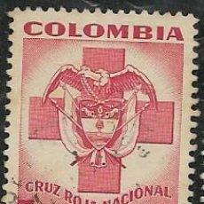 Sellos: COLOMBIA BENEFICENCIA YVERT 4. Lote 294926288
