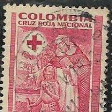 Sellos: COLOMBIA BENEFICENCIA YVERT 5. Lote 294926663