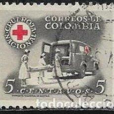 Sellos: COLOMBIA BENEFICENCIA YVERT 8. Lote 294927258