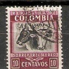 Sellos: COLOMBIA. FAUNA.GANADERIA. Lote 295834818