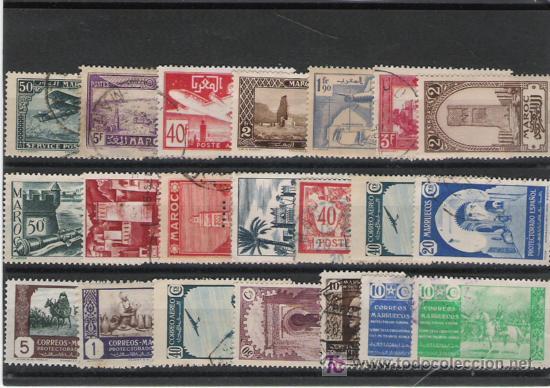 MARRUECOS LOTE DE SELLOS (Sellos - España - Colonias Españolas y Dependencias - África - Marruecos)