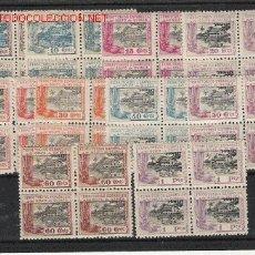 Sellos: MAGNIFICO BLOQUE DE CUATRO DE GUINEA SERIE CORTA NUEVA. Lote 9684805