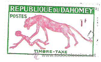 SELLO REPUBLIQUE DU DAHOMEY (Sellos - España - Colonias Españolas y Dependencias - África - Otros)