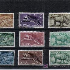 RIO MUNI. 1964 Fauna Ecuatorial