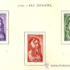 Sellos: EDIFIL Nº 29-31 RIO MUNI PRO INFANCIA 1962 SEÑAL FIJASELLOS . Lote 14014665