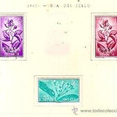 Sellos: EDIFIL Nº 42-44 RIO MUNI DIA DEL SELLO 1964 SEÑAL DE FIJASELLOS. Lote 14014716