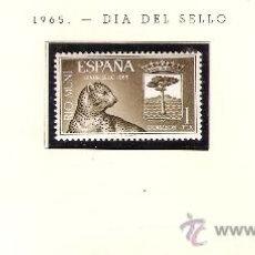 Sellos: EDIFIL Nº 66-68 RIO MUNI DIA DEL SELLO 1965 NUEVO . Lote 26600841