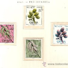 Sellos: EDIFIL Nº 76-79 RIO MUNI PRO INFANCIA 1967 NUEVO . Lote 14014808