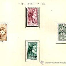 Sellos: EDIFIL Nº 159-162 IFNI PRO INFANCIA 1960 SEÑAL FIJASELLOS . Lote 14015146
