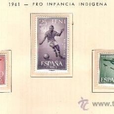 Sellos: EDIFIL Nº 175-178 IFNI PRO INFANCIA INDIGENA 1961 NUEVO . Lote 14015176