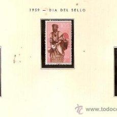 Sellos: SAHARA ESPAÑOL EDIFIL Nº 169-171 DIA DEL SELLO 1959 FIJASELLOS . Lote 14296878
