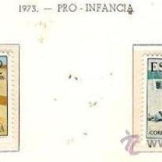 Sellos: SAHARA ESPAÑOL EDIFIL Nº 310-311 PRO INFANCIA 1973 NUEVO . Lote 14308916