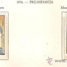 Sellos: SAHARA ESPAÑOL EDIFIL Nº 314-315 PRO INFANCIA 1974 NUEVO . Lote 14308946