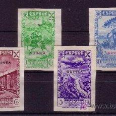 Sellos: GUINEA.- EDIFIL Nº 1/6 DE BENEFICENCIA SIN DENTAR Y SIN GOMA. . Lote 14932068