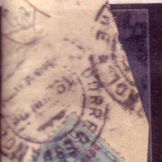 Sellos: MARRUECOS.- EDIFIL Nº 63 ALFONSO XIII BISECTADO SOBRE FRAGMENTO MATASELLADO.. Lote 14955612