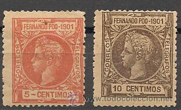 DEPENDENCIAS POSTALES. FERNANDO POO. (Sellos - España - Colonias Españolas y Dependencias - África - Fernando Poo)