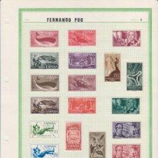 Sellos: COLECCION DE SELLOS DE FERNANDO POO. Lote 26447422