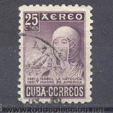 Sellos: CUBA, 1952. Lote 21882392