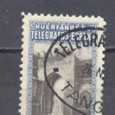 Sellos: TANGER- HUERFANOS DE TELEGRAFOS- OFICINA DE TANGER. Lote 22167003
