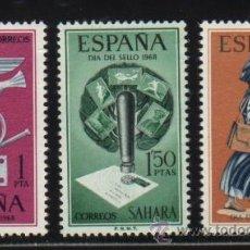 Sellos: S-2131- SAHARA. DIA DEL SELLO 1968. Lote 21538593