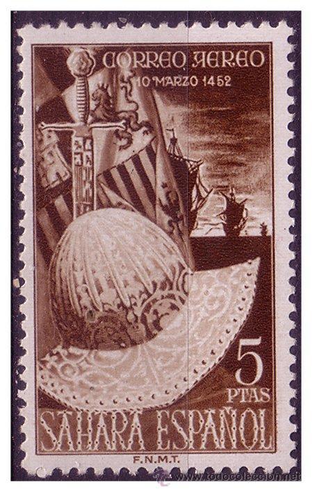 SAHARA 1952 FERNANDO EL CATÓLICO, EDIFIL Nº 97 * (Sellos - España - Colonias Españolas y Dependencias - África - Sahara)