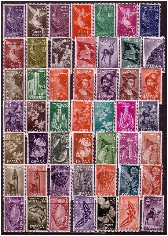 Sellos: SAHARA 1951 a 1968 Colección * ver - Foto 2 - 23538446