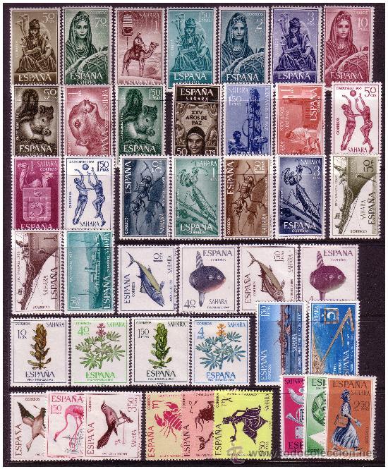 Sellos: SAHARA 1951 a 1968 Colección * ver - Foto 3 - 23538446
